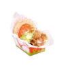 Barquilla cartón kebab