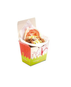 Cofre de cartón Kebab