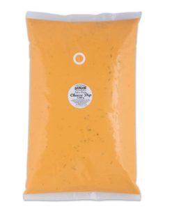 Auténtica salsa de queso cheddar