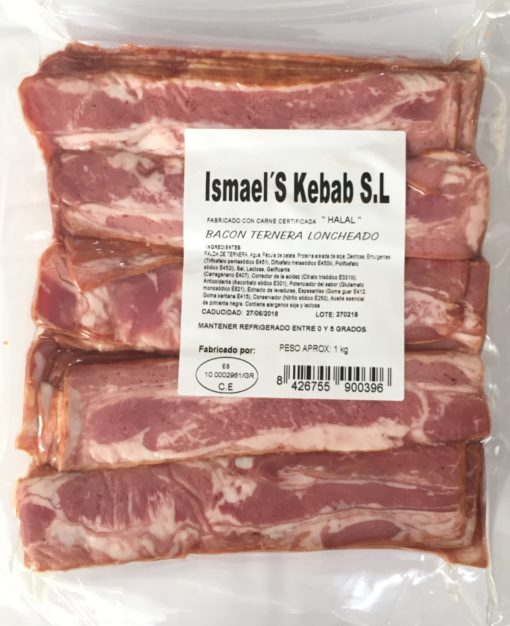 bacon de ternera