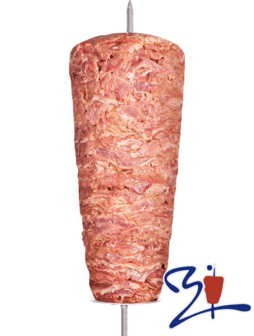 Doner Kebab Ternera en filetes y pavo