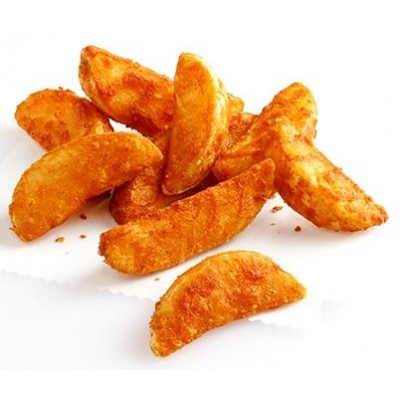 patatas wedges sazonado