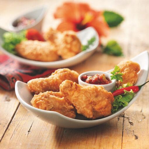 Alitas de pollo empanadas - 1 Kg