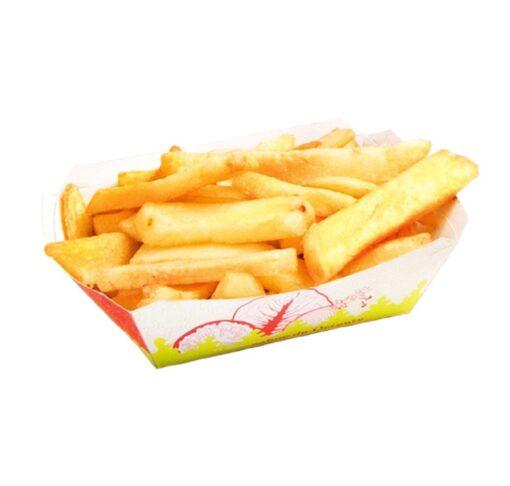 Bandeja de cartón para patatas