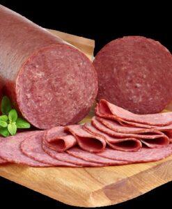 Salami de ternera halal